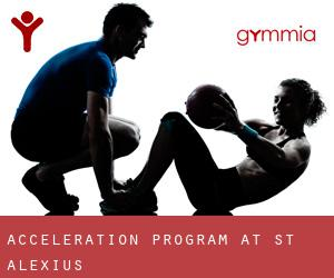 Acceleration Program At St Alexius
