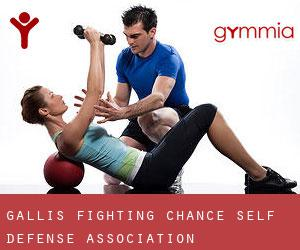 Galli's Fighting Chance Self-Defense Association
